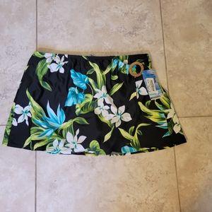 NWT Christina swim skirt
